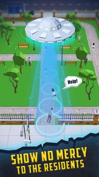 抖音飞碟吞噬城市游戏截图5
