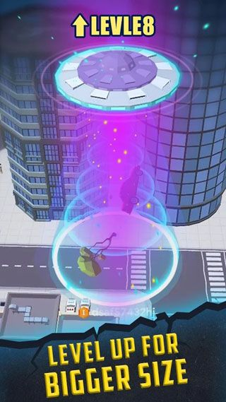 抖音飞碟吞噬城市游戏截图2